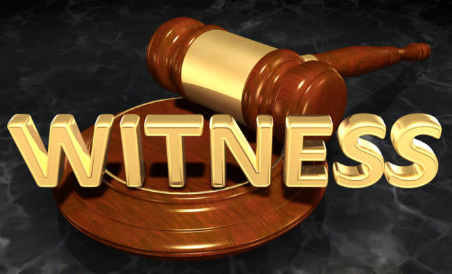 Can a defendant talk to a witness