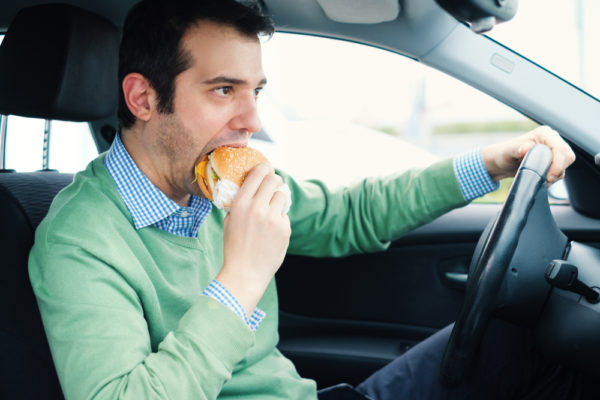 Is It Illegal To Eat And Drive