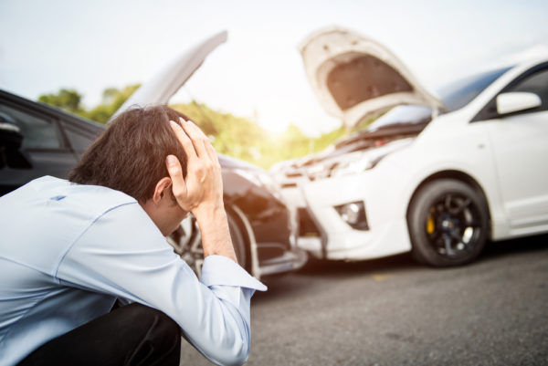 What happens if you are at fault in a car accident